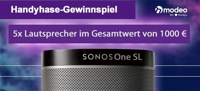 modeo Gewinnspiel Sonos One SL