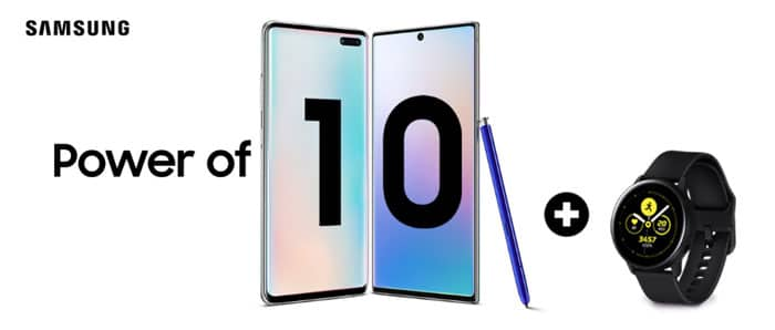 Samsung Galaxy Power of 10 Aktion