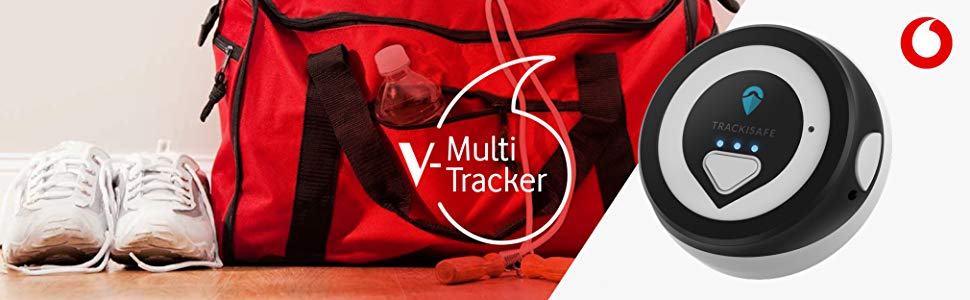 V-Multi Tracker by Vodafone TrackiSafe Mini - GPS Tracker