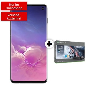 Galaxy S10 + Xbox One X StarW Bundle Logo 300px MM