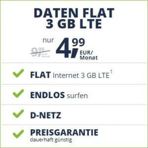 freenet Mobile Daten Flat