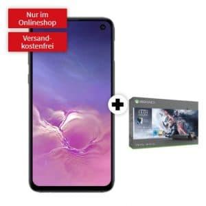 Samsung Galaxy S10e + Xbox One X Star Wars Jedi Fallen Order Bundle + mobilcom-debitel Magenta Mobil S (Telekom-Netz) bei MediaMarkt