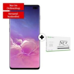 Samsung Galaxy S10 Plus + Xbox One S (1 TB) + mobilcom-debitel bei MediaMarkt