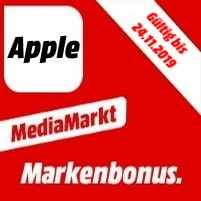 MediaMarkt Markenbonus Apple