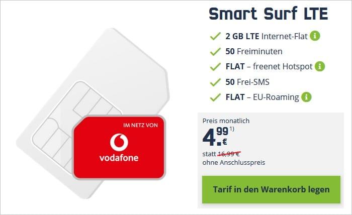vodafone smart surf lte ohne anschlussgebühr mobilcom-debitel