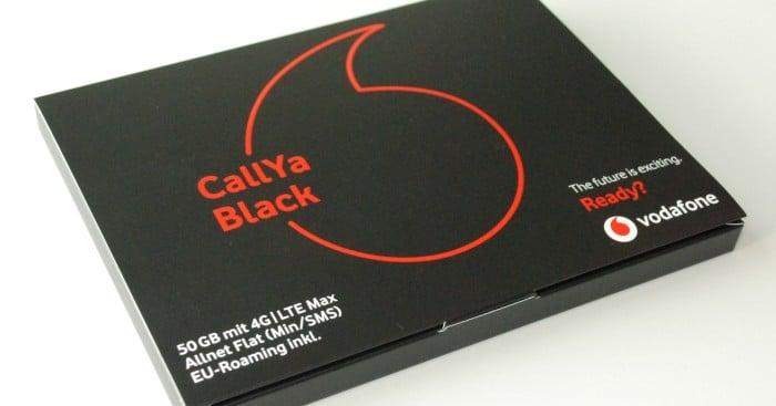Vodafone CallYa Black