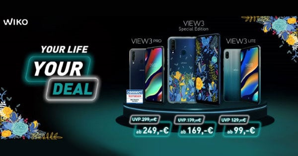 Wiko View 3 Special Edition zum Black Friday 2019