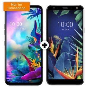 LG G8X Thinq Dual SIM + LG K40