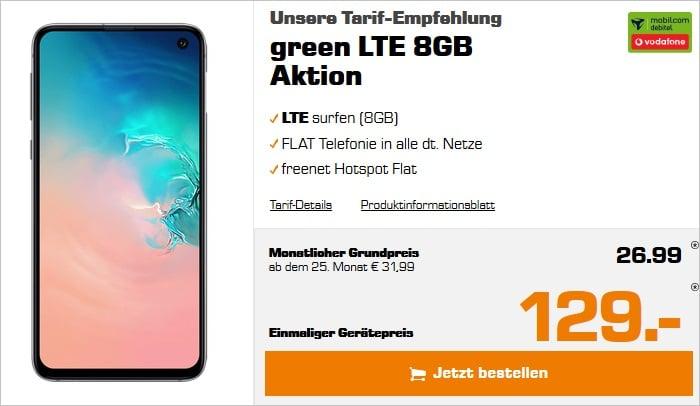 SAMSUNG Galaxy S10e + green LTE 8 GB Vodafone Saturn