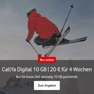 Vodafone CallYa Digital Aktion Logo