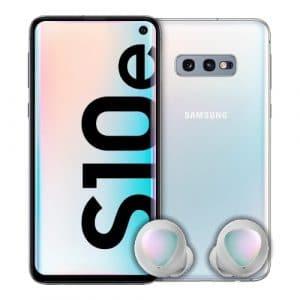 Samsung Galaxy S10e + Samsung Galaxy Buds