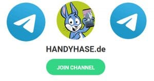 Handyhase auf Telegram, Facebook, Twitter und per Newsletter folgen