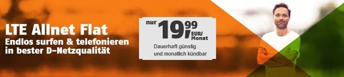 klarmobil Allnet Flat 3 GB LTE 1 Monat