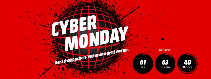 MediaMarkt Cyber Monday