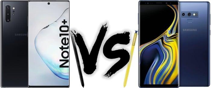 Smartphone Preisvergleich - Samsung Galaxy Note 10 Plus vs. Samsung Galaxy Note 9