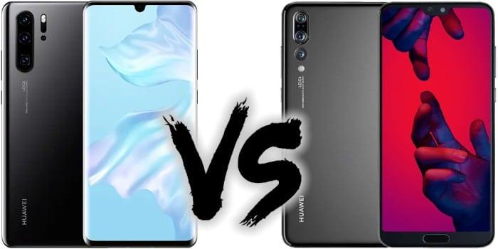 Smartphone Preisvergleich - Huawei P30 Pro vs. Huawei P20 Pro