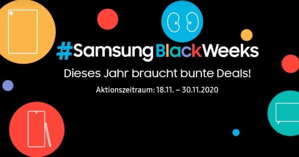 Samsung Black Weeks 2020 Thumbnail