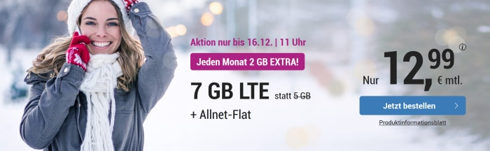 simply LTE 5000 mit 7 GB Aktion
