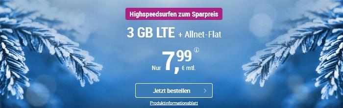 simply 3 GB LTE Allnet DEZ