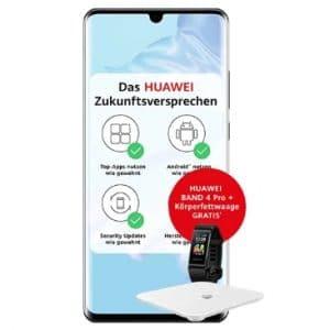Huawei P30 Pro + Band 4 Pro + Waage