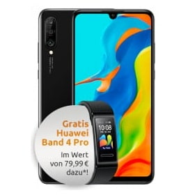 Huawei P30 lite New Edition + Band 4 Pro Logo