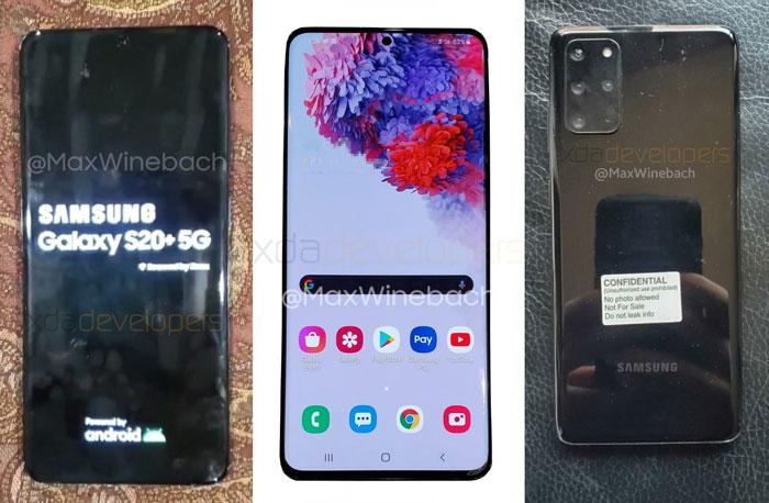 Samsung Galaxy S20 Plus 5G Leak