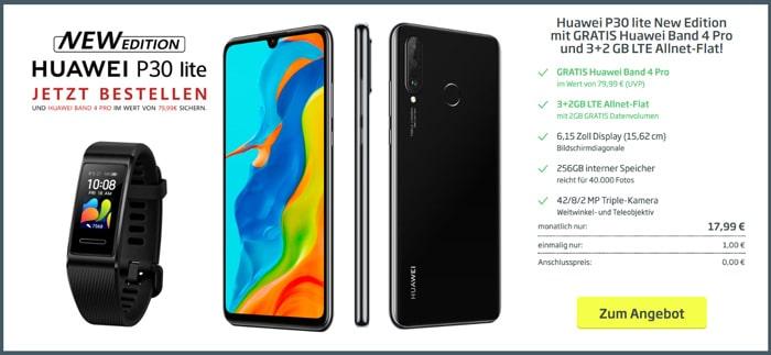 Huawei P30 lite (New Edition) + Blau Allnet L