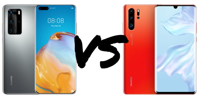 Huawei P40 Pro vs. P30 Pro