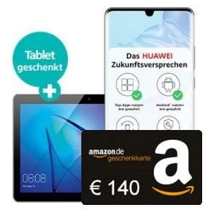 Huawei P30 Pro + Huawei MediaPad T3 + 140 € BestChoice