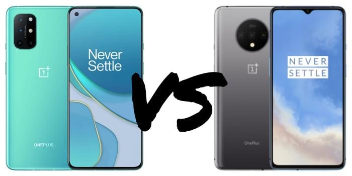 OnePlus 8T vs. OnePlus 7T