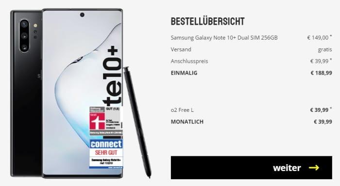 Samsung galaxy note 10 mit vertrag