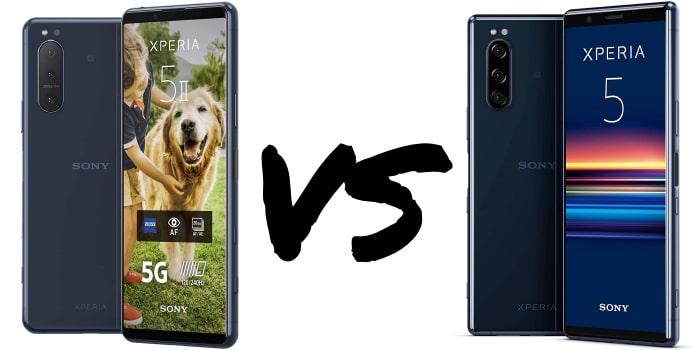 Sony Xperia 5 II vs. Xperia 5