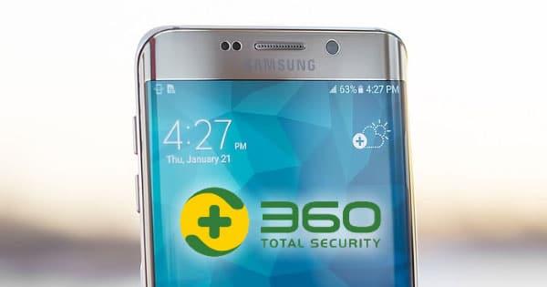 Qihoo 360 Security auf Geräten von Samsung