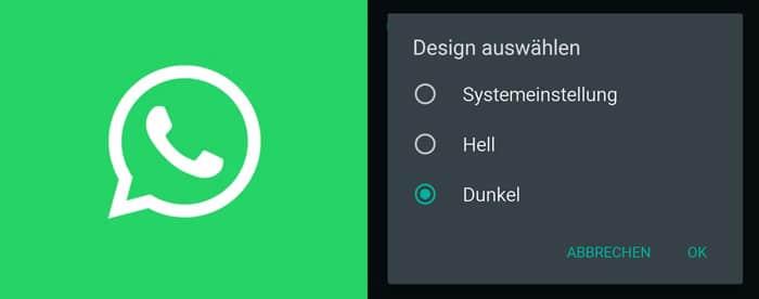 WhatsApp Dark Mode für Android und iPhone (iOS) aktivieren: So lässt sich das Design abdunkeln