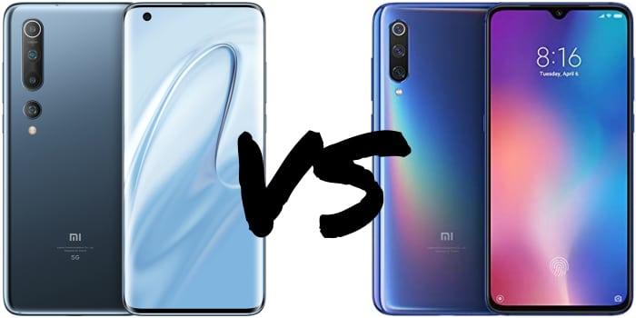 Xiaomi Mi 10 vs. Mi 9