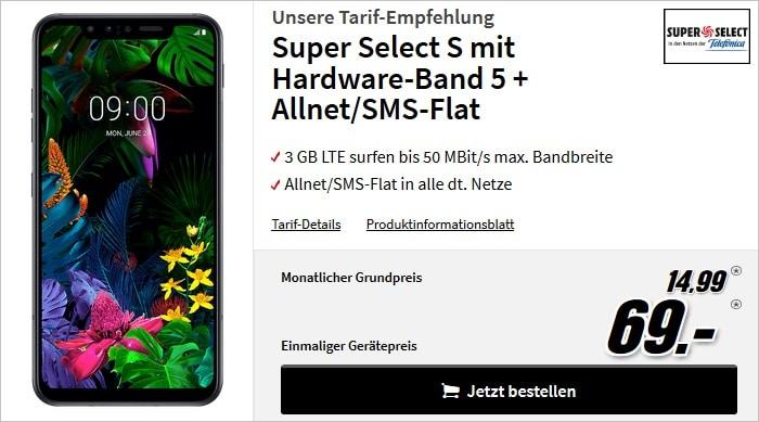 LG G8S ThinQ zum Super Select S bei MediaMarkt