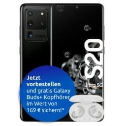 Samsung Galaxy S20 Ultra + Galaxy Buds Plus