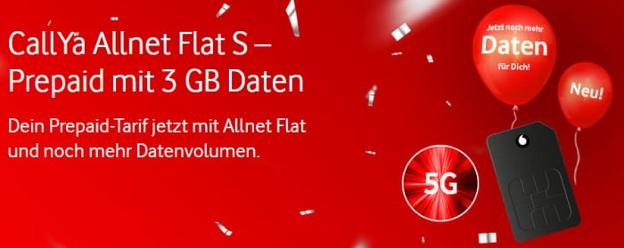 Vodafone CallYa mit 5G
