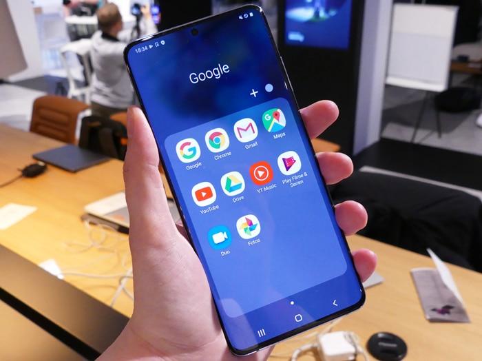 Samsung Galaxy S20 Plus Test & Daten: 8K-Videos + Zeitraffer bei Nacht - und ein 5G-Modell