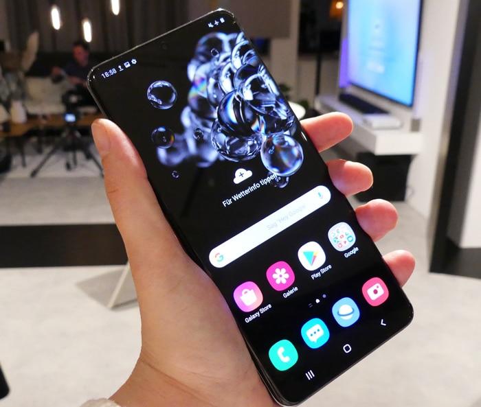 Samsung Galaxy S20 Ultra Test & Daten: Der Riese mit 108-MP-Foto- und 8K-Videokamera