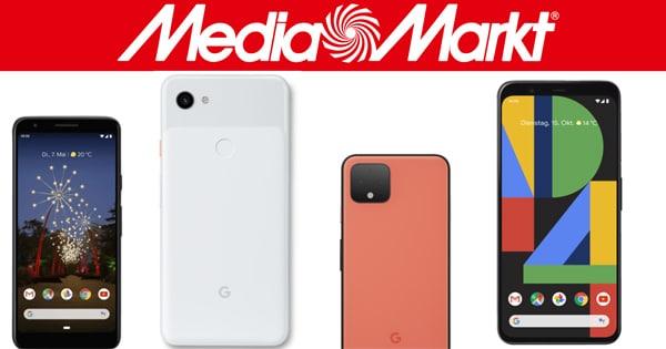 Google Pixel 3a / 3a XL, Pixel 4 / 4 XL im Vergleich: Top-Angebote bei MediaMarkt