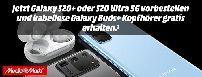 MediaMarkt & Saturn feiern mit: Das Samsung Galaxy S20, S20 Plus S20 Ultra sind verfügbar!