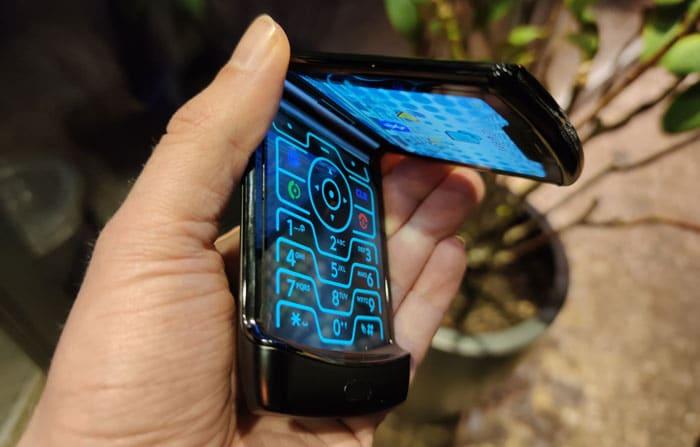 Motorola razr Test