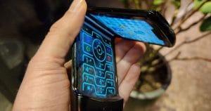 Motorola razr Thumb