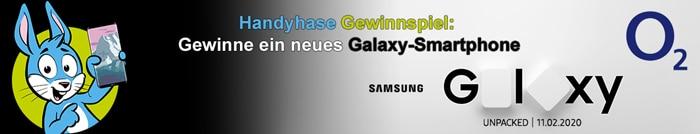 Handyhase-Gewinnspiel bis Ende März: Gewinne ein brandneues Galaxy-Smartphone von Samsung!
