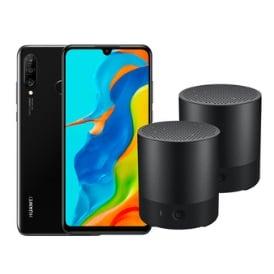 Huawei P30 Lite mit zwei gratis Lautsprechern bei Curved