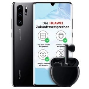 Huawei P30 Pro mit FreeBuds 3
