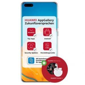 Huawei P40 Pro mit Zugaben bei DeinHandy