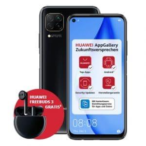 Huawei P40 lite Black + Huawei FreeBuds 3 Thumbnail