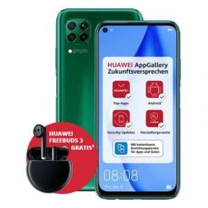 Huawei P40 lite Green + Huawei FreeBuds 3 Thumbnail